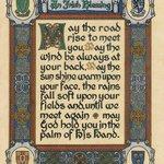 Enter as Strangers Leave as Blessed Friends Celtic Prayer
