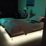 Lights under the bed