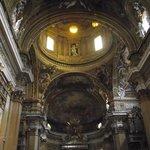 Interior da Igreja de Jesus. Visto do Altar-mor