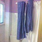 Wechsel von Duschtüchern... kann man ja auf dem Balkon trocknen..