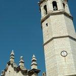 Die Kirche von Benicarlo