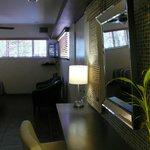 Dressing area VIP suite