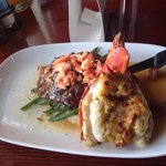 Lobster and steak