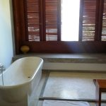 Bathroom in Olive Ridley room