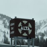 Alta is at end of canyon