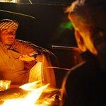Camp fire bedouin stories