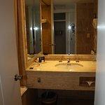 bathroom in king oceanview room
