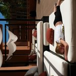 cabana beds near lobby