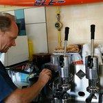 handhebel espresso richtig stilecht