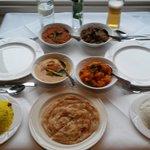 The Rasa feast - yummy!