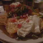 Nachos from the bar