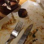 burnt roast potato
