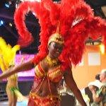 colorful dancers