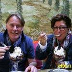 Das beste Eis Belgiens .......... wir schwebten im 7. Eishimmel :)