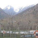 Vista desde el camping