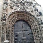 Il portale del Sagrario