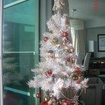 i even set up a Christmas tree