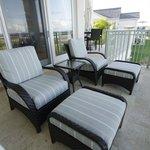Balcony seating, Grand Isle Resort & Spa