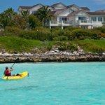 kayaking at Emerald Bay, Grand Isle Resort & Spa