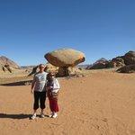 Mushroom Rock, Wadi Rum