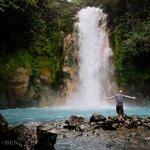 Waterfall at Rio Celeste