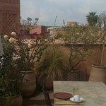 Frühstück - egal wann - auf der Dachterasse