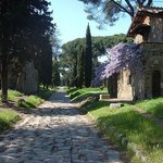 The Remains of the Appian Way in Rome