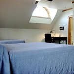 The suite bedrooms feature queen size beds