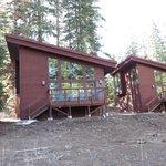 Rear of cabin