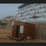 from beach