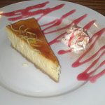 Sicilian Lemon Cheesecake