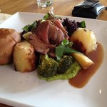 Rare beef Sunday roast, and even rarer that someone has gone for quality and flavour over profit