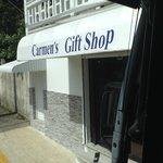 le magasin pour les achats (expensif)