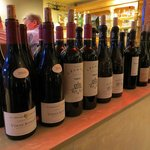 Assortiment wijnen