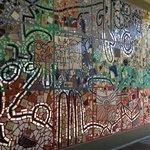 Mosaic mural on Phoenix Convention Center exterior