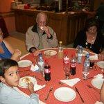 Comedor: cena