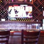 Nice bar area!