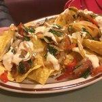 Vegiterian nachos