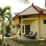 One Hamsa bungalow.