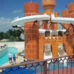 Castillo de la isla del tesoro