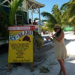 The best coffee and beignets in Cay Caulker!!!