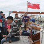 Sailing on the R Tucker Thompson