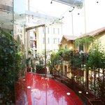 Glass Corridor at Hotel Sanpi Milano