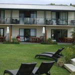 We had 2 ground floor beach side units with en suite and kitchenette