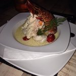 Lobster and red snapper special