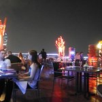 the Beautiful , windy , and stylish roof top bar