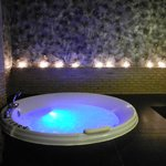 our mineral bath at the day spa, very lovely