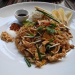 delicious pad thai at party house one