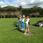 Laser claybird shooting!