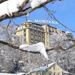 ART DECO HOTEL MONTANA during winter
